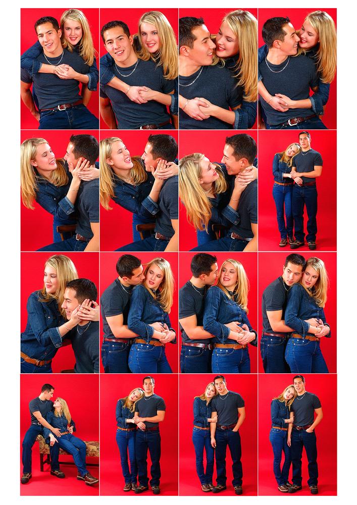 20 лучших поз для фотосъёмки пары.